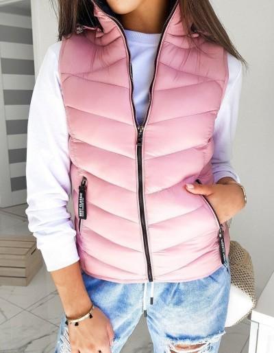 Dámská růžová vesta BEST CLASSIC TY1379