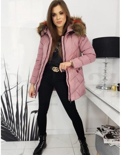 Dámská zimní bunda Olivia růžová