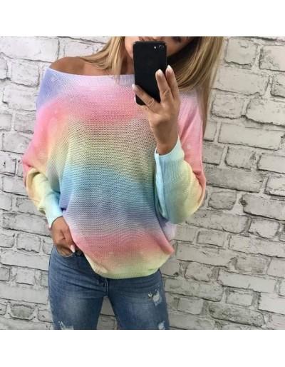Dámský duhový svetřík top kousek Butik24