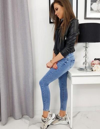 TRENDY modré džíny UY0236
