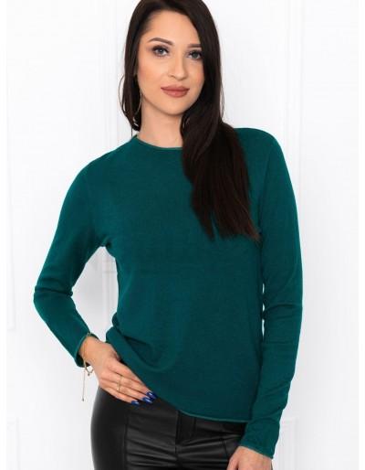 Dámský svetr ELR002 - tmavě zelený