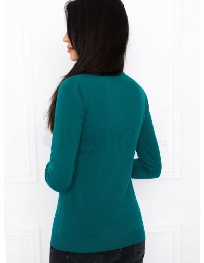 Women's polo neck ELR004 - turquoise