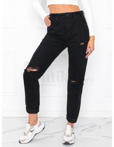 Dámské džíny PLR019 - černé
