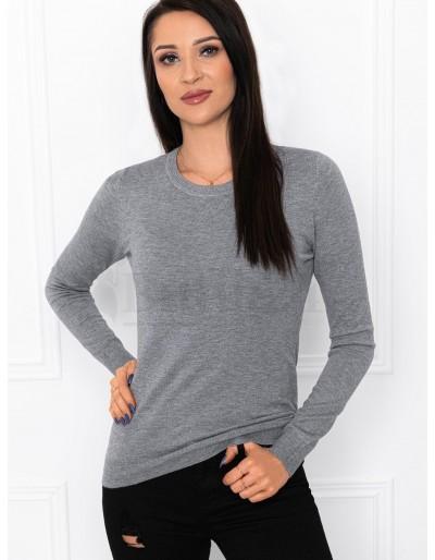 Dámský svetr ELR003 - šedý