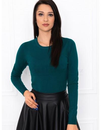 Dámský svetr ELR003 - tmavě zelený