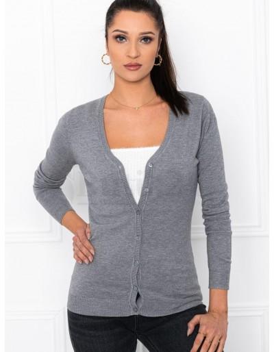 Dámský svetr ELR005 - šedý
