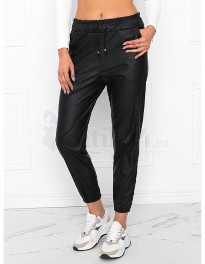 Dámské voskované kalhoty PLR018 - černé