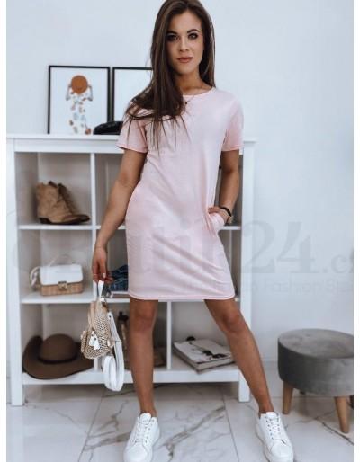Růžové šaty GABI EY1466