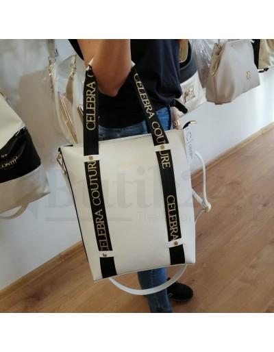 Dámská kabelka Abby bílá