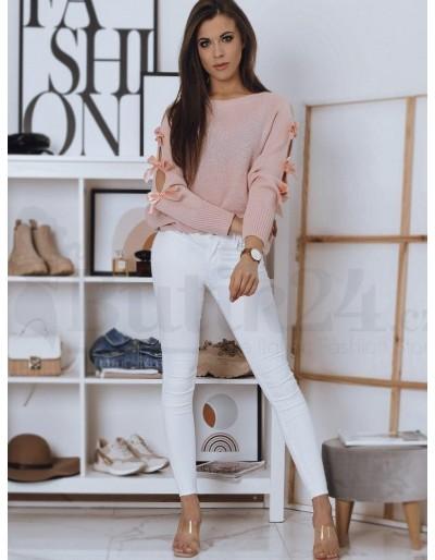 Dámský růžový svetr CHIOS MY0934