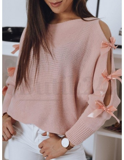 Sweter damski CHIOS różowy MY0934