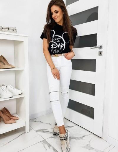Dámské bílé džíny Skinny Fit UY0313