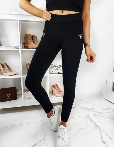 Spodnie damskie tregginsy MILAS czarne UY0325