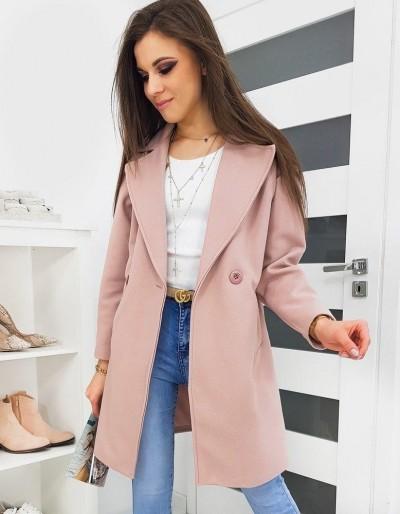 Dámský kabát SEVENTO růžový NY0328