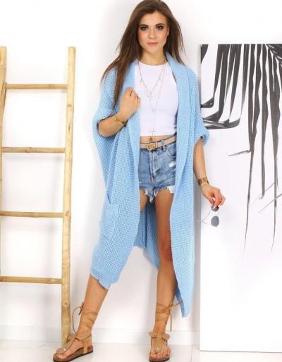 Dámský svetr MOLLER nebesky modrý MY0760