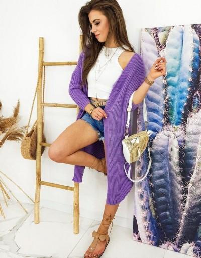 Dámský svetr BARTERO lila MY0767