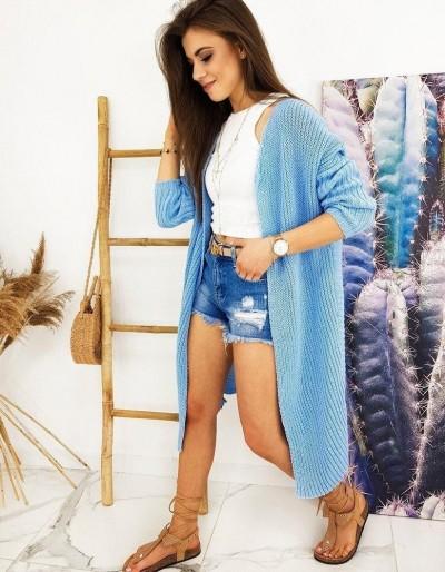 Dámský svetr BARTERO modrý MY0768