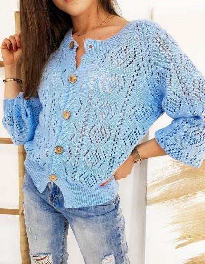 Dámský modrý svetr NATALIE MY0776