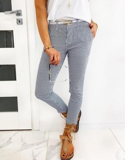 Tmavě modré dámské kalhoty MARINE UY0480