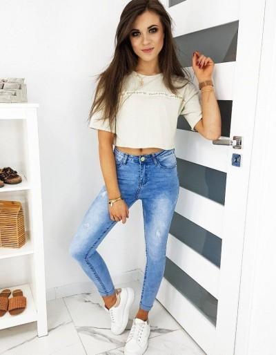 Dámské džíny Skinny Fit ELISAVE modré UY0484
