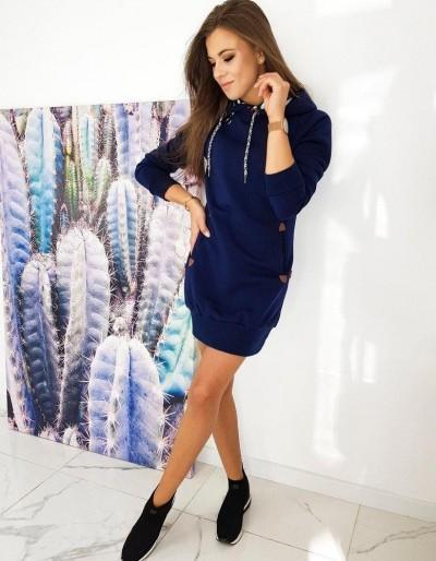 Šaty CARMENO / tmavě modré EY1323