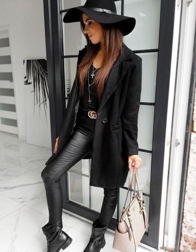Dámský kabát SANLORINI černý NY0348