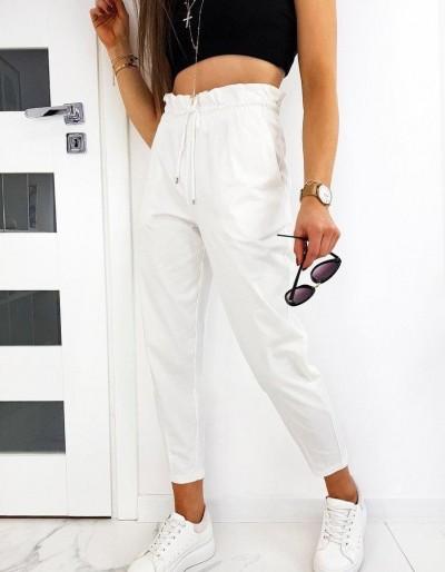 Dámské kalhoty Mom Fit LEO bílé UY0511