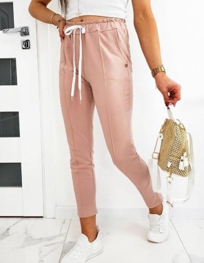 Růžové dámské kalhoty MISTIC UY0512