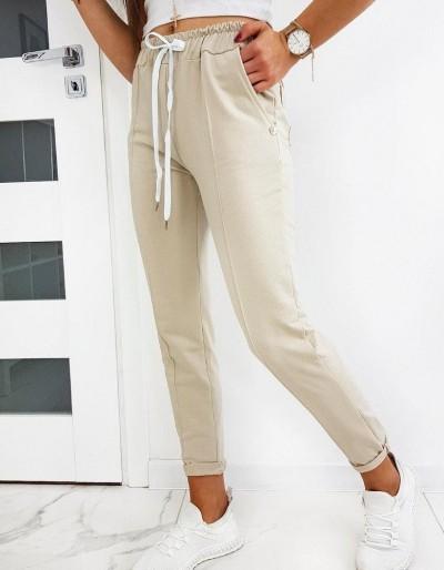 Dámské béžové kalhoty MISTIC UY0513