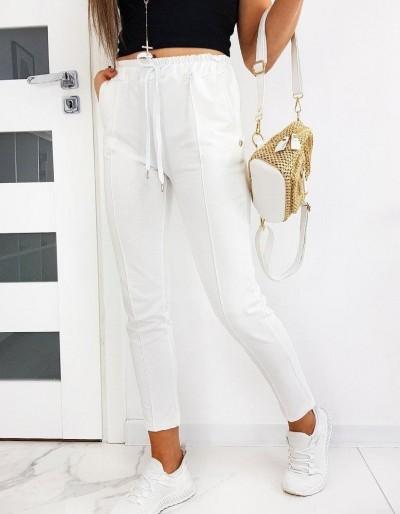 Dámské bílé kalhoty MISTIC UY0514