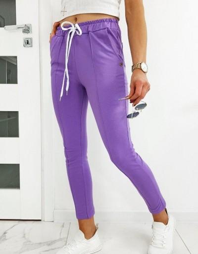 Dámské kalhoty MISTIC lila UY0515