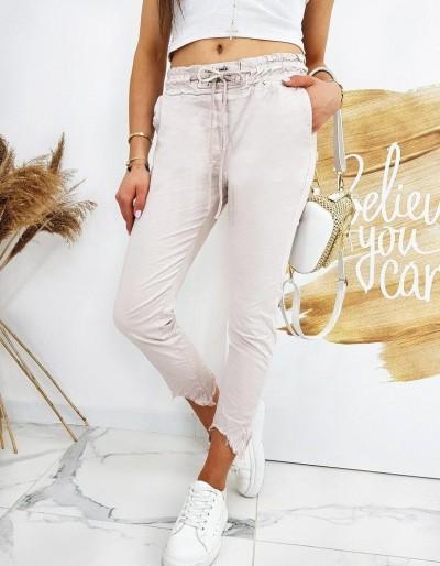 Dámské kalhoty DAVIDS růžové UY0519