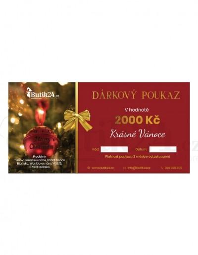 Dárkový vánoční poukaz Butik24