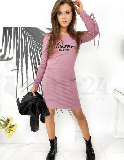 HOWKERS šaty růžové EY1372