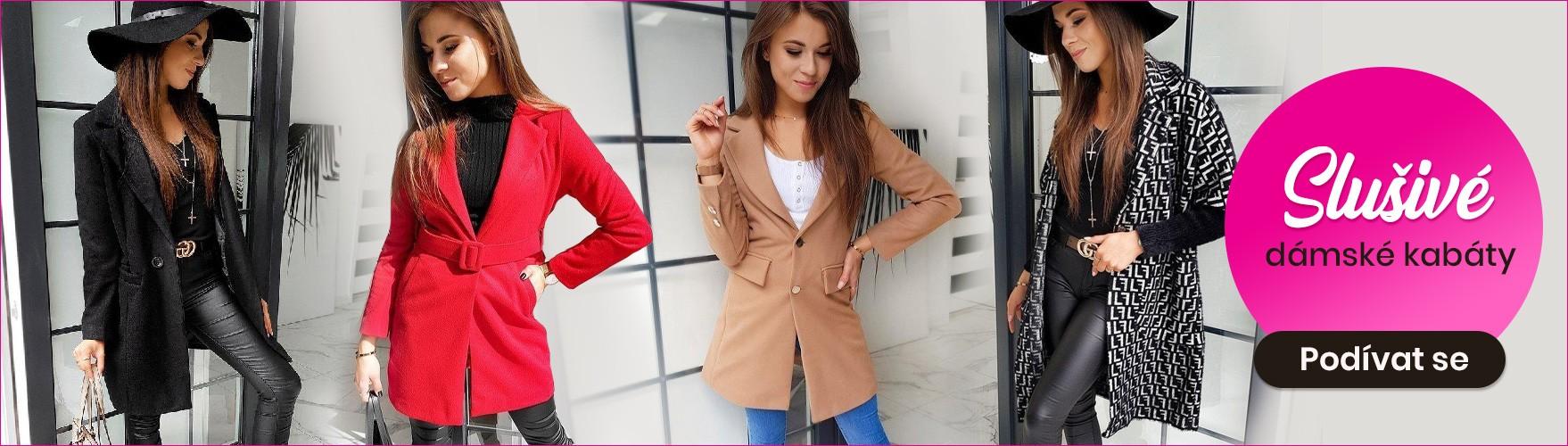 Dámské stylové kabáty